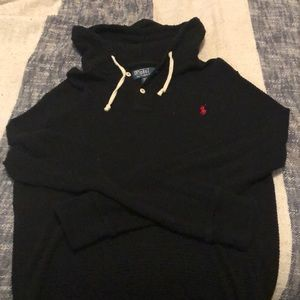 Polo by RL Henley Hooded Thermal